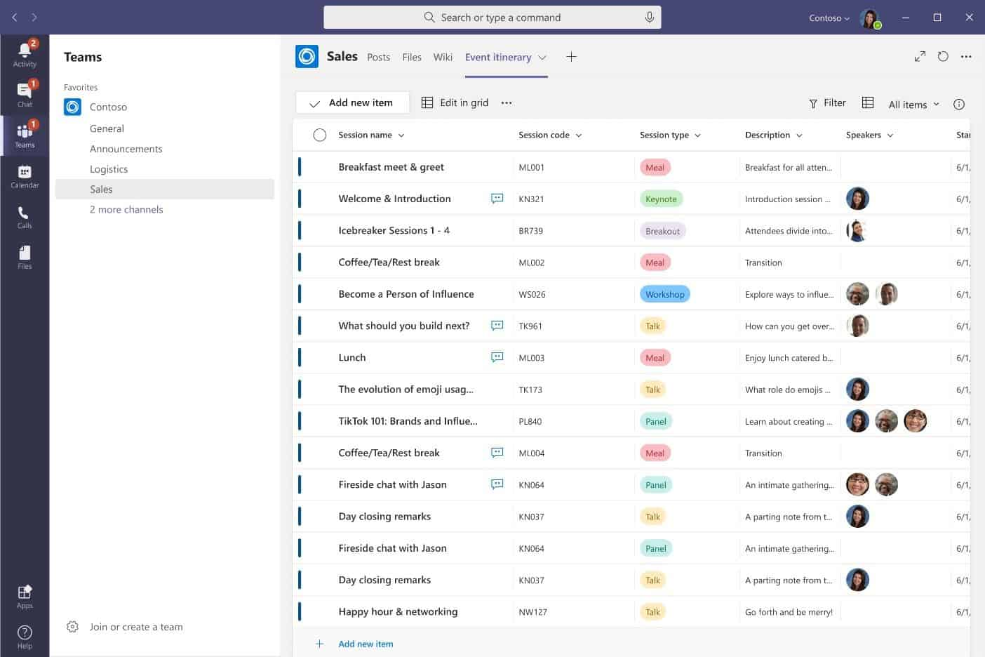 Customize Microsoft Lists in Teams
