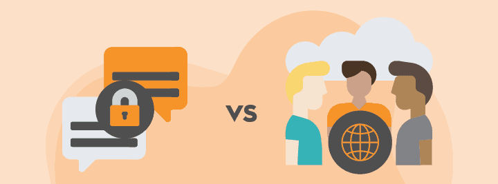 A User Guide: How to Choose Between Public vs. Private Microsoft Teams