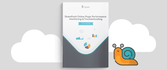 SharePoint Online performance monitoring ebook