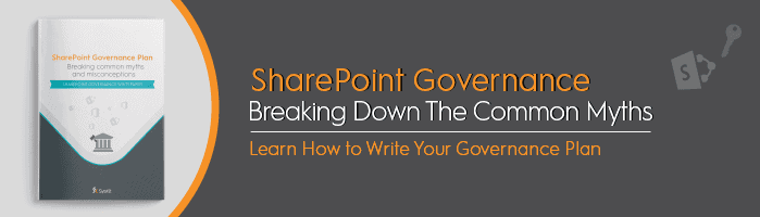 Breaking Down the Common SharePoint Governance Myths - featured image