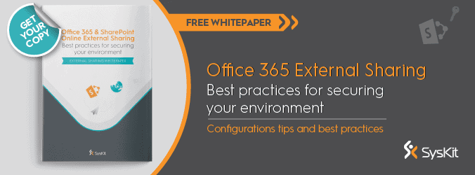 Office 365 External Sharing Configuration Guide - featured image