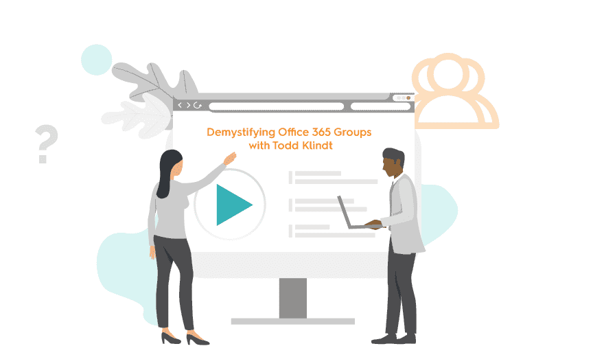Webinar Todd Office 365 Groups - featured image
