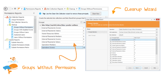 Keep your SharePoint permissions in check with Cleanup Wizard
